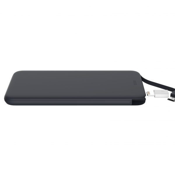 usb power bank black color