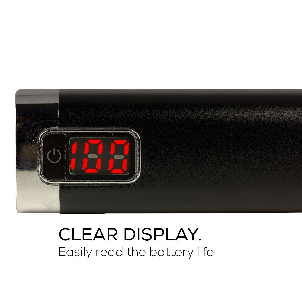 Digital Power Display : Mah gift power bank with lcd and digital display