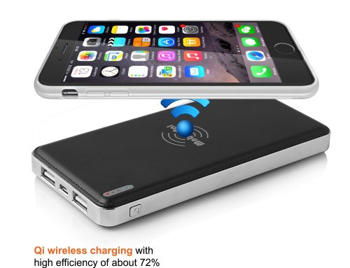 Wireless power bank charger